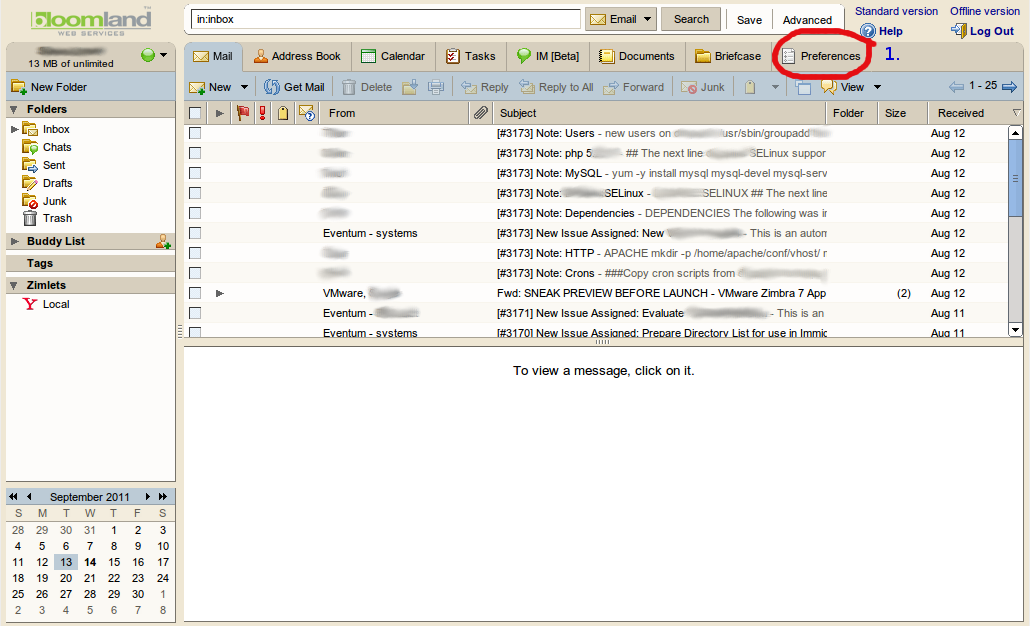 how to export address book from bloomland s legacy email services