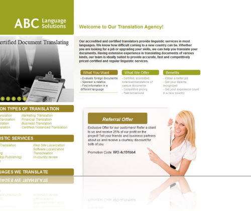 ABC Language Solutions Home Page
