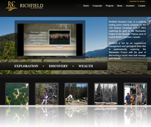 Richfield Ventures Corp. Home Page
