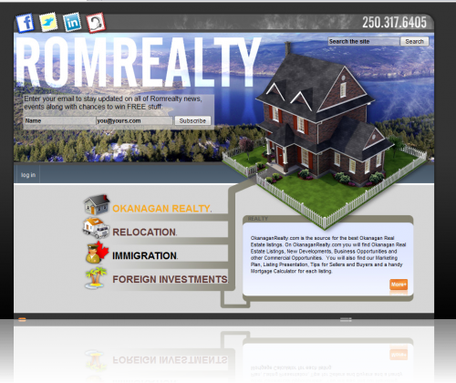 Romrealty Home Page